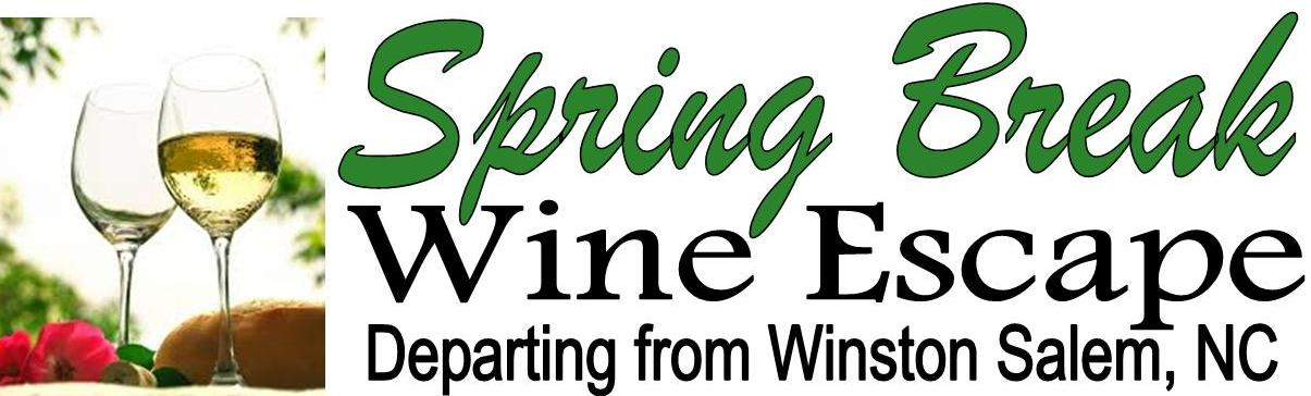 Spring Break Winery Tours: Join the fun wine tasting (departs Winston Salem)