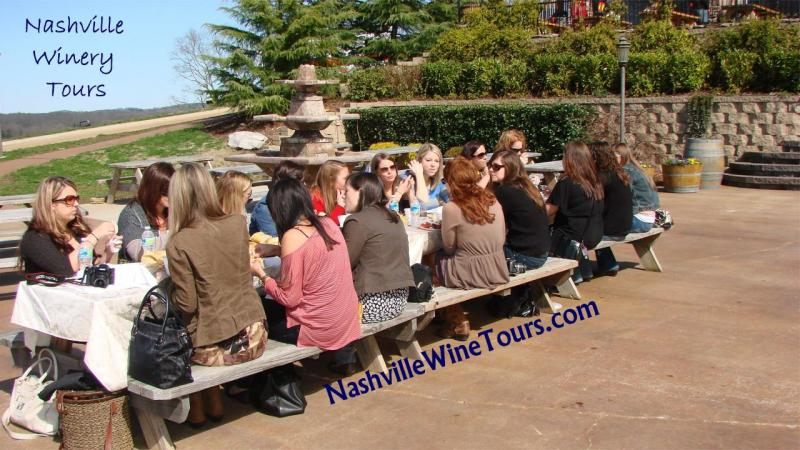 Nashville Bachelorette party wine tasting tour, winery tours